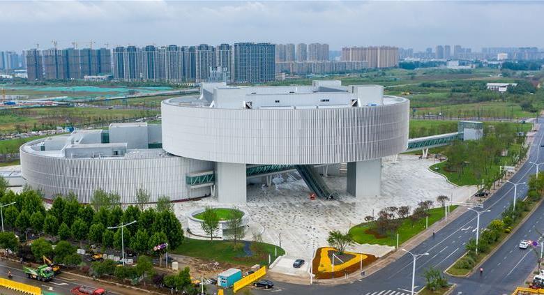 南京江北新区市民中心即将投入使用