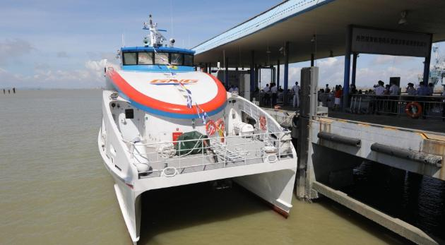 爱博体育手机APP广州首条水上客运航线开通,单程仅35分钟,覆盖大湾区5城