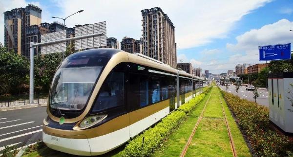 龙华现代有轨电车示范线工程BOT项目及同步实施工程获省级大奖