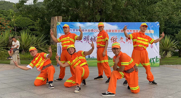 """福永:文艺巡演进社区 撒播文明""""种子"""""""
