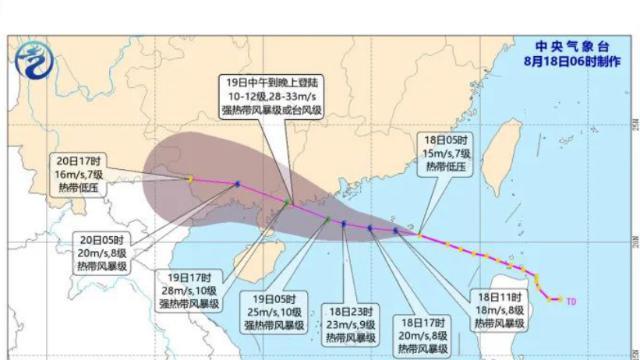 深新早点 | 全市台风白色预警已发布