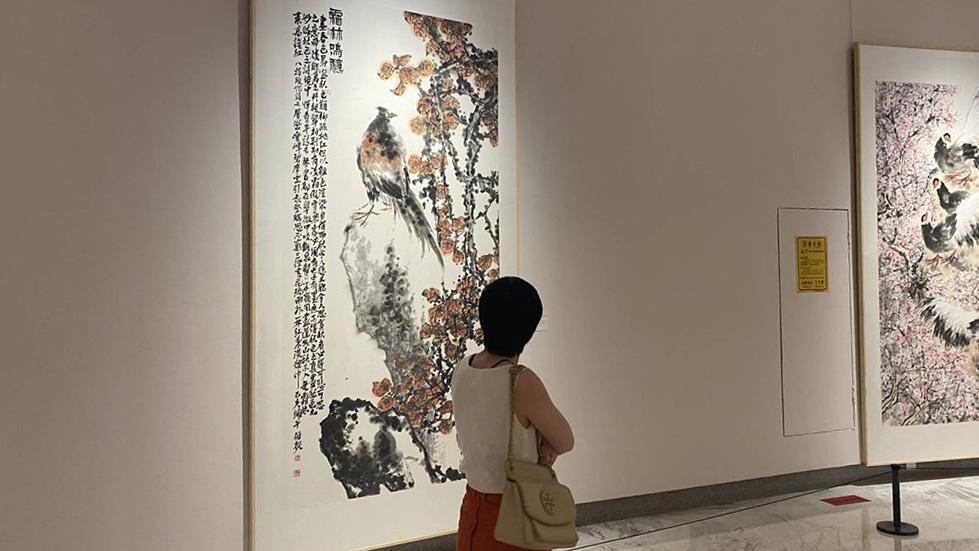 伯揆中国写意花鸟画大展在深圳开幕 百余幅力作展美学典范