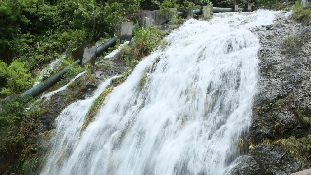 半山公园带建设如火如荼 老虎涧公园瀑布景观初具雏形