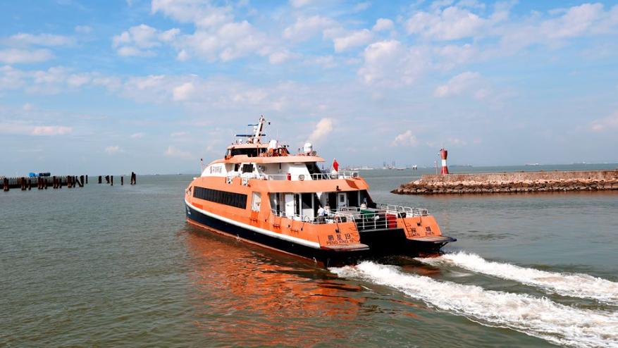 8月26日起 ,深圳机场码头至广州南沙港航班增开至12个