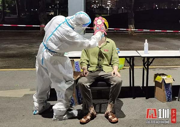 龙岗区第六人民医院圆满完成辖区核酸检测采样任务