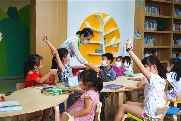 """【基层创文掠影】暑期青少年读书会 为""""创文""""注入书香活力"""
