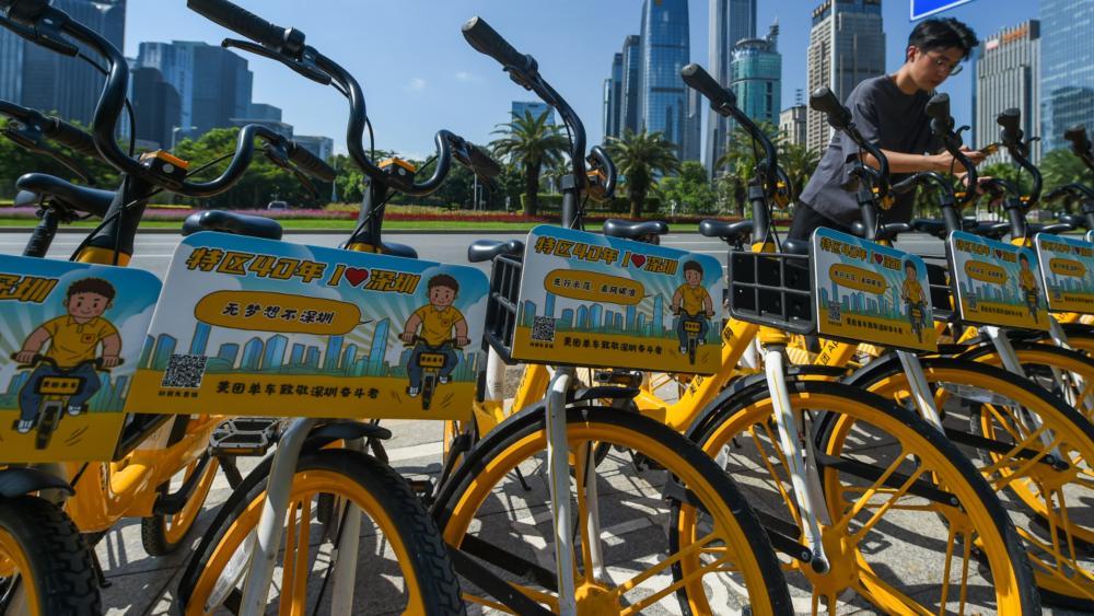 美团发布共享单车大数据:全国最早起最晚睡的都是深圳人