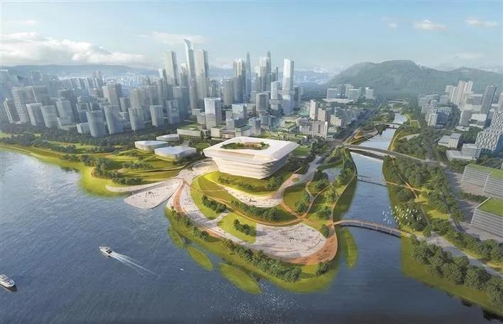 深新早点   国深博物馆、前海城市新中心等十大项目集中开工,总投资303亿元(语音播报)