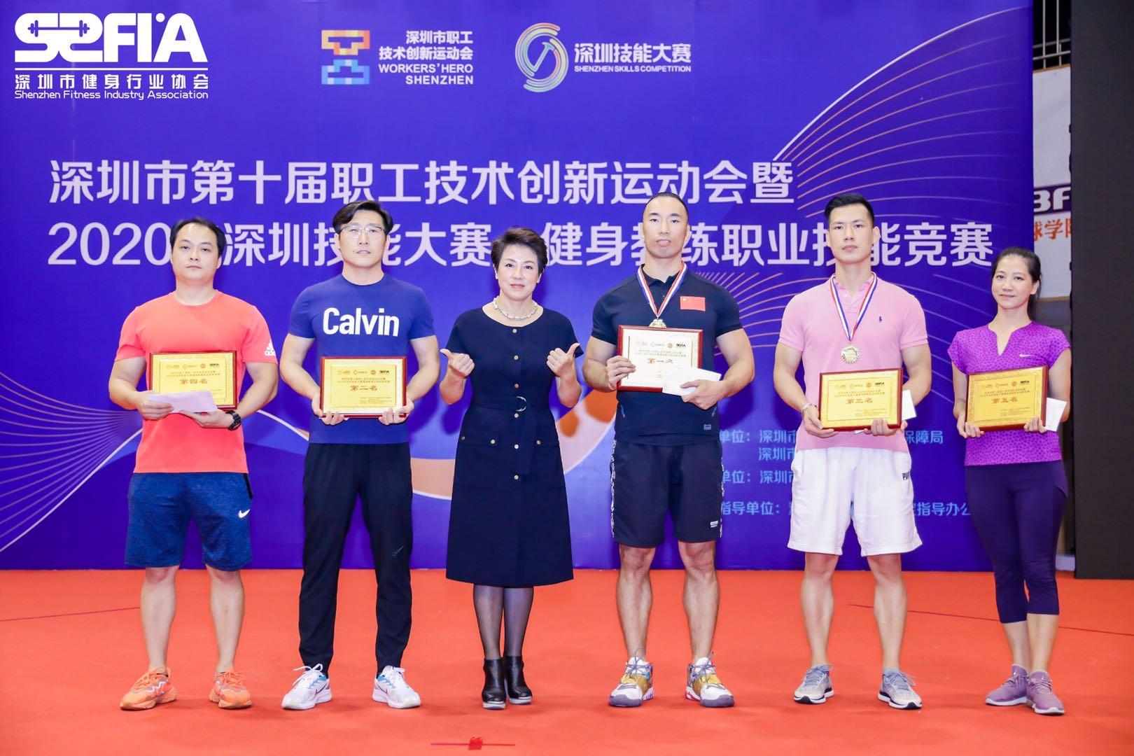 ?2020年深圳市健身教练职业技能竞赛开赛