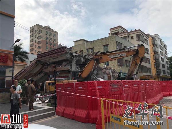 福城开展拆除行动 推进丹坑水、龙澜大道北延段项目