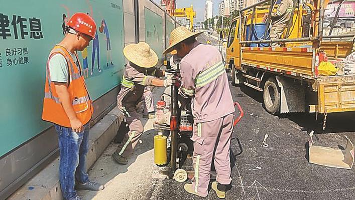 深圳地铁14号线新进展:六约北站附属阶段一期交通疏解完成