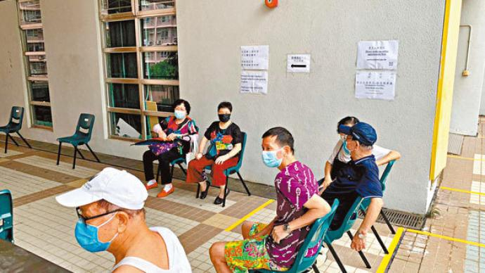 香港普检首批验出6例呈阳性 其中4例为出院康复者