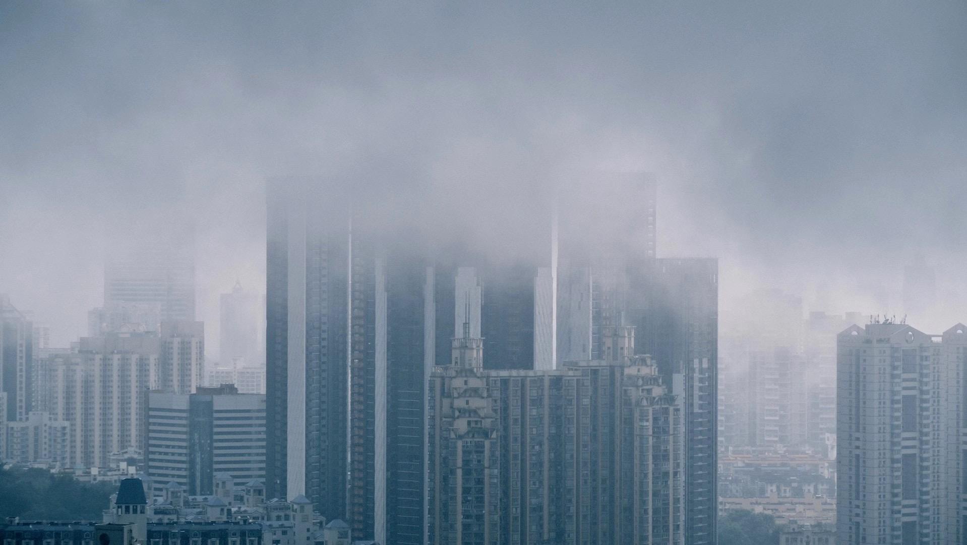 暴雨橙色分区+深圳市全市暴雨黄色+全市雷电预警生效中