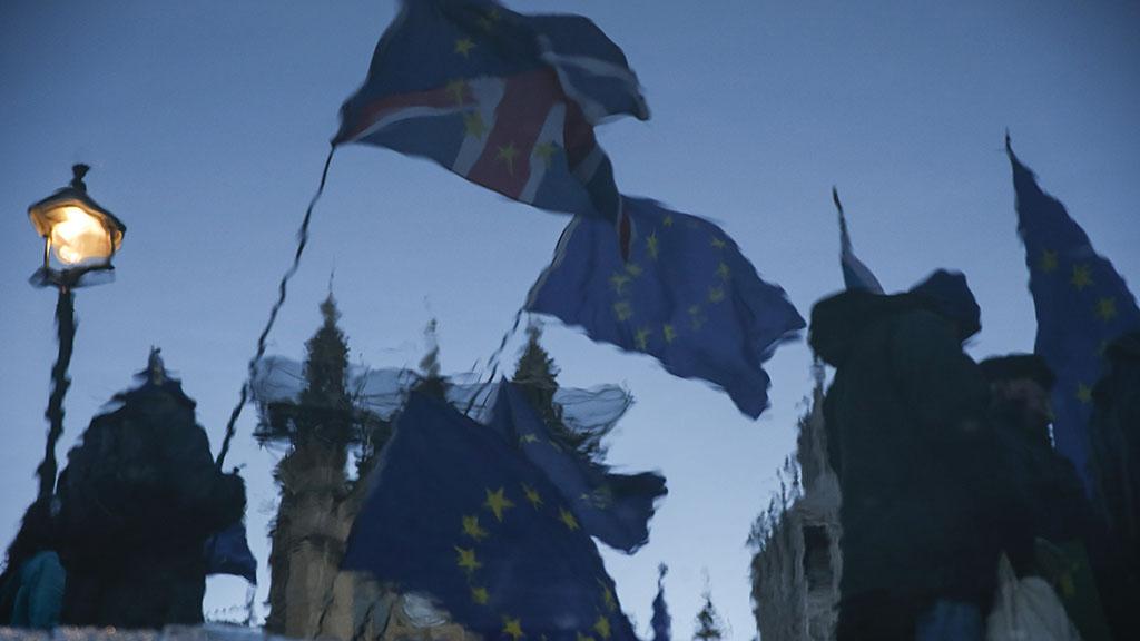 """英国""""无协议脱欧""""风险增大"""