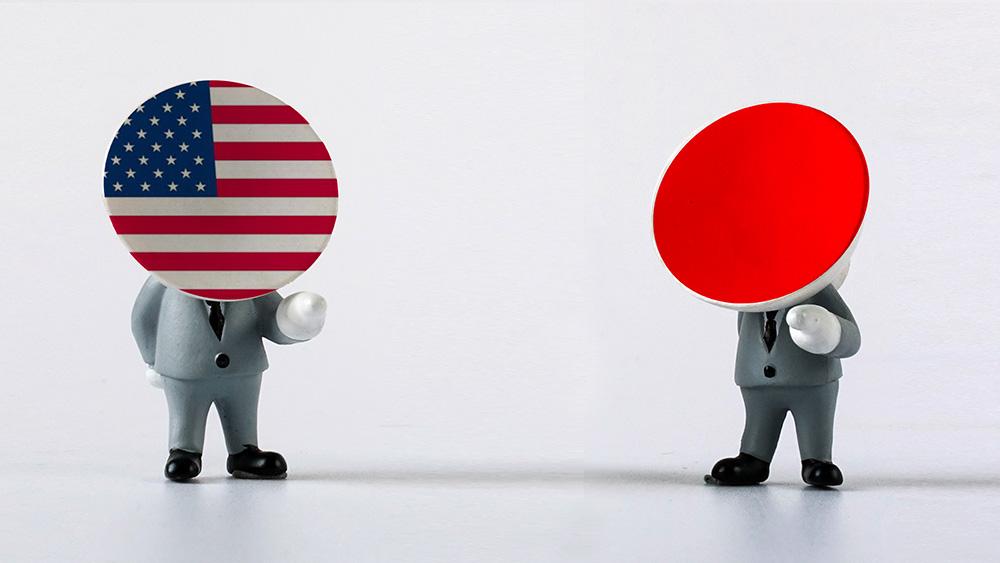 日本新任首相菅义伟与特朗普通电话