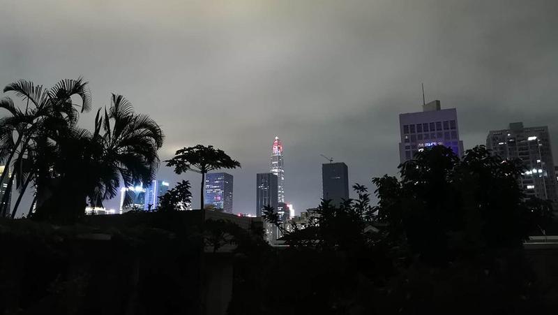 深圳发布分区暴雨橙色预警