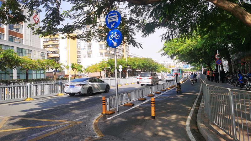 深圳首部自行车交通发展规划出台!新建及扩建道路100%设置自行车道