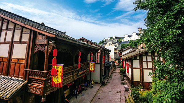 重庆:乐游安居古城 探寻安居的原乡韵味