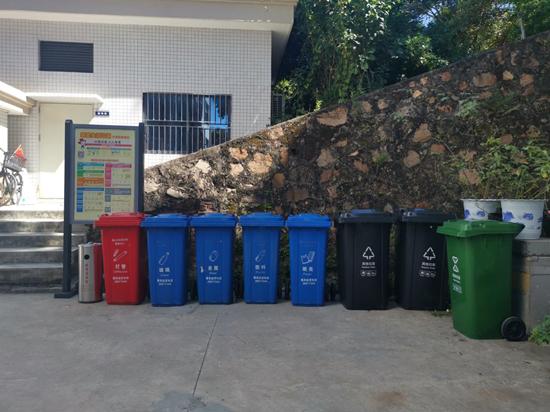 """蛇口街道探索""""海岛垃圾分类"""" 携手大铲海关打造垃圾分类示范单位"""