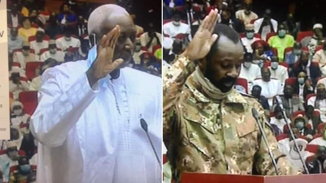 马里过渡期总统和副总统宣誓就职