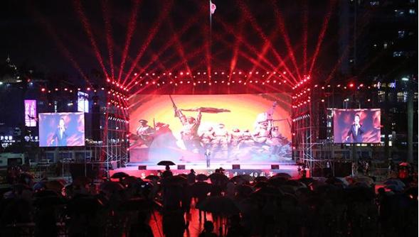 盐田区庆祝深圳经济特区建立40周年文艺晚会精彩上演