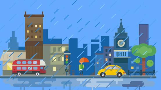 深圳市宝安区分区暴雨橙色预警升级为红色