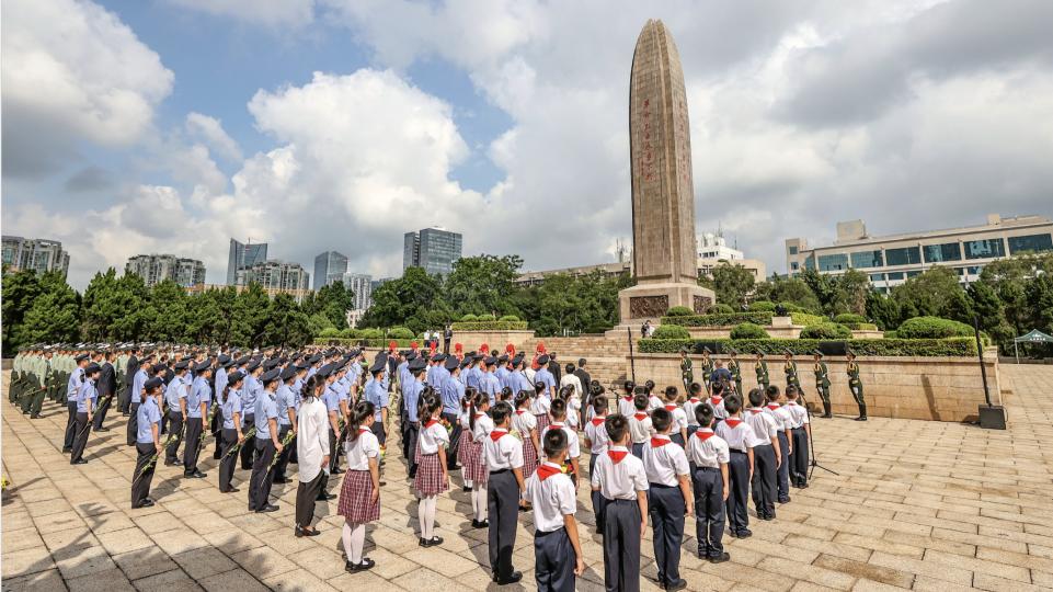 深圳举行公祭烈士活动,深切缅怀英烈,凝聚奋斗力量