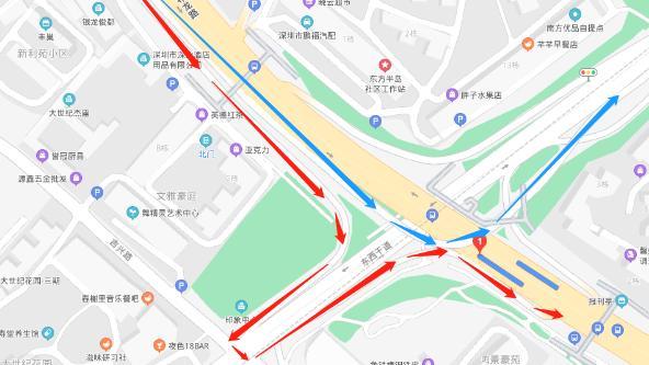 因大芬立交、木棉中桥桥梁检测,国庆期间将封闭相关路段!