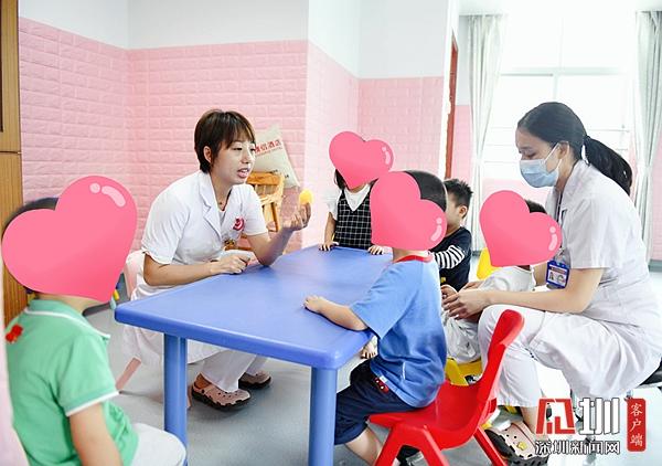 龙岗区妇幼保健院医患共联欢 健康过双节