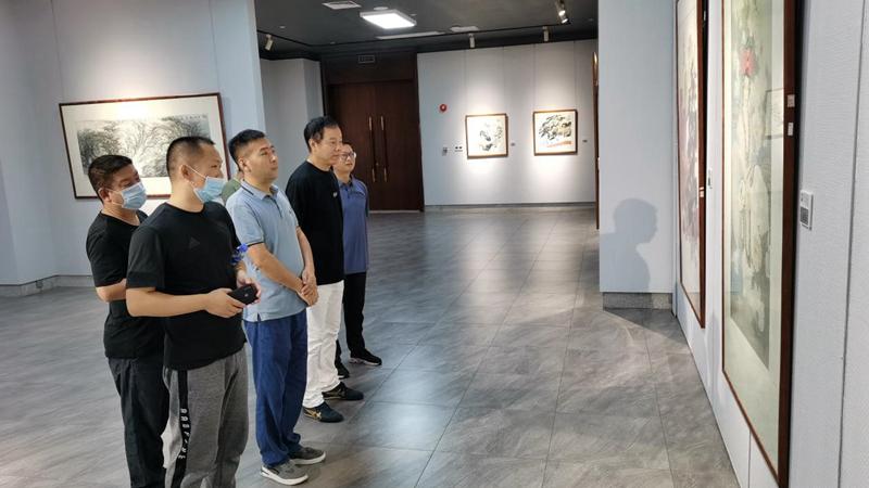 庆国庆迎中秋 旭生美术馆40幅馆藏作品带你感受文化气息