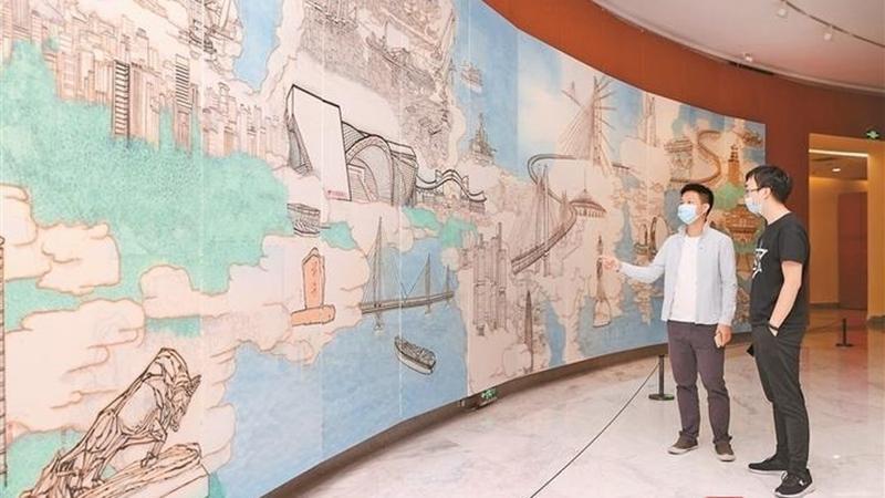 丹青妙笔绘就特区建设壮丽画卷