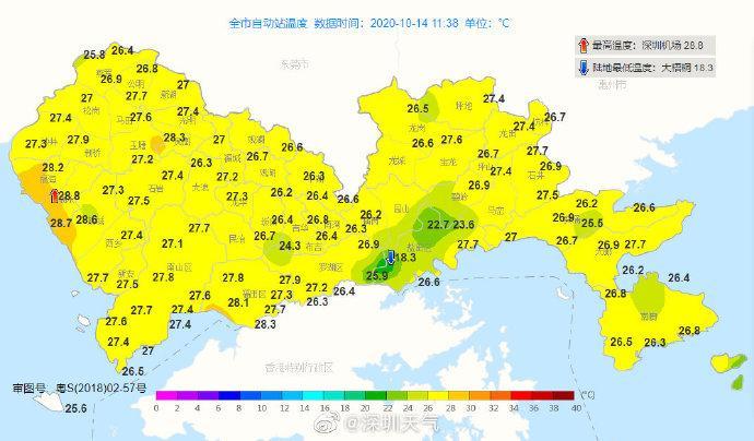 台风已经远离,深圳啥时候入秋?未来天气渐趋干燥