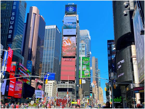 """""""穿越""""到纽约:中国特区""""深圳奇迹""""让世界看到"""
