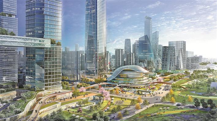 葵涌推进32个都会更新单元建设再造新城