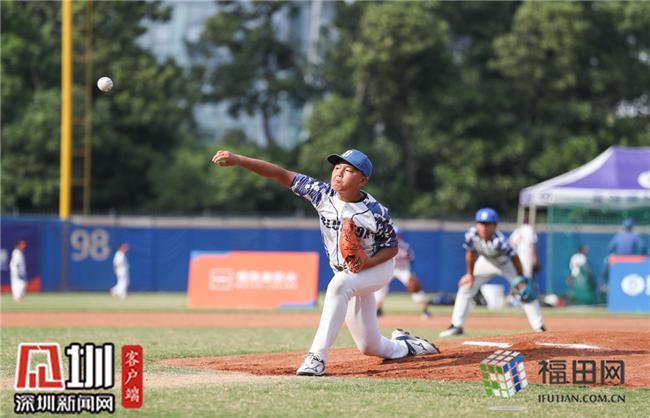 300名棒球小将同场竞技 青少年棒球联赛深圳站收官