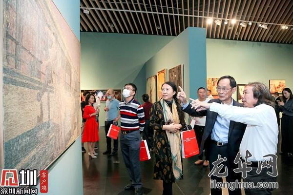 第三届清华大学乔十光漆画艺术创新奖入围作品展开展