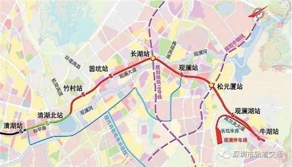 随地铁4号线三期开通 龙华区同步优化调整常规公交线路