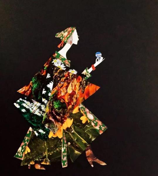 触摸国画、剪纸跨界艺术的东方美学 笠夫百余件精品亮相龙岗