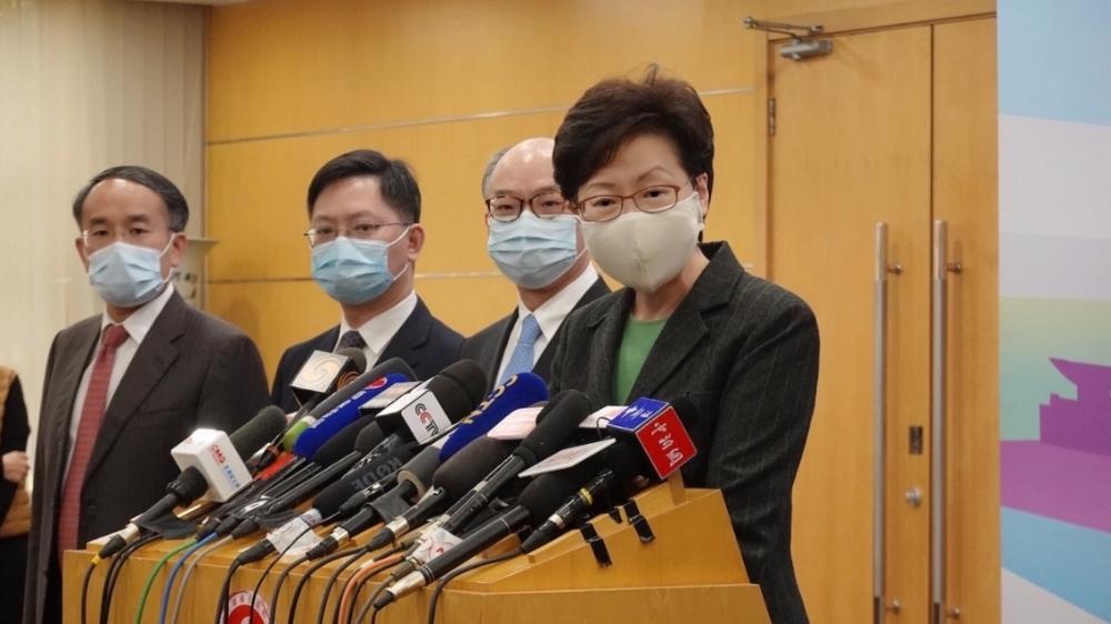香港特区行政长官林郑月娥答记者问:香港国安法实施以来效果显著