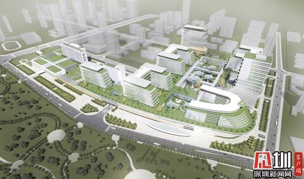 中山大学附属第七医院二期动工 规划床位3200张