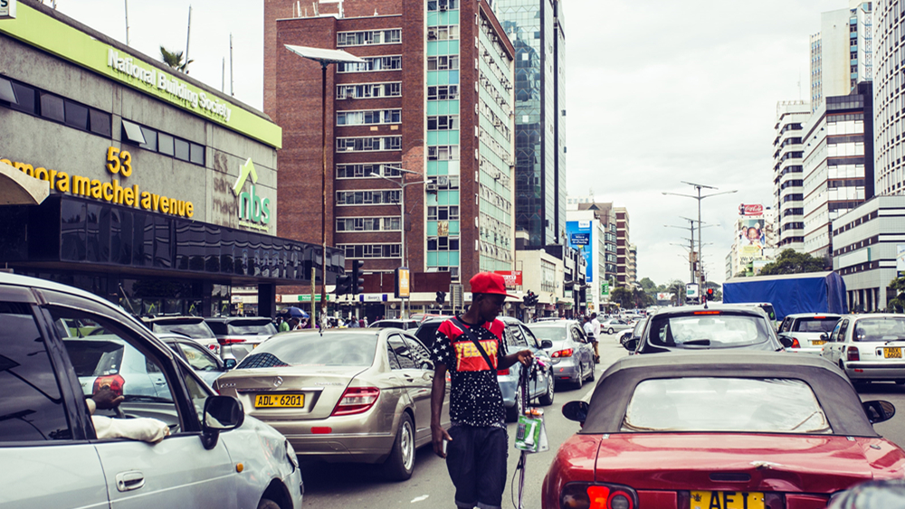 """津巴布韦发布""""五年经济蓝图"""""""
