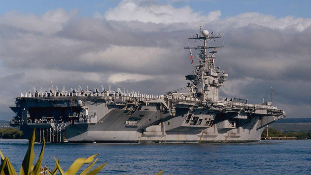 美日印澳在印度洋举行大规模军演 澳大利亚首次参加