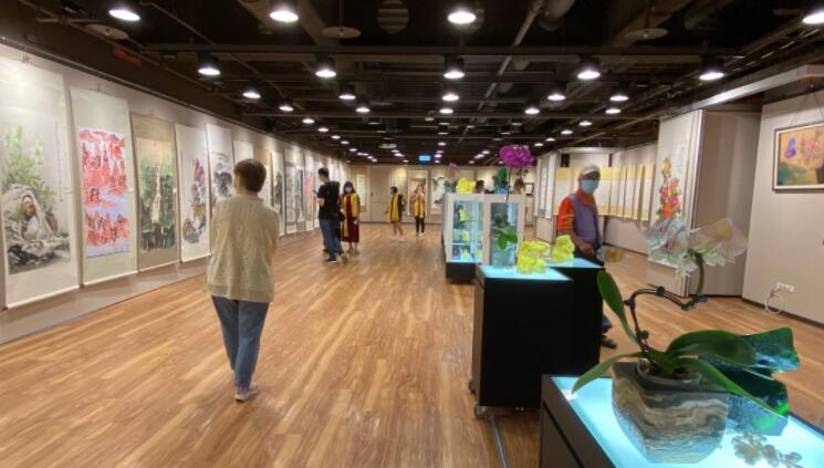 第四届海峡两岸艺术名家邀请展在台北开幕