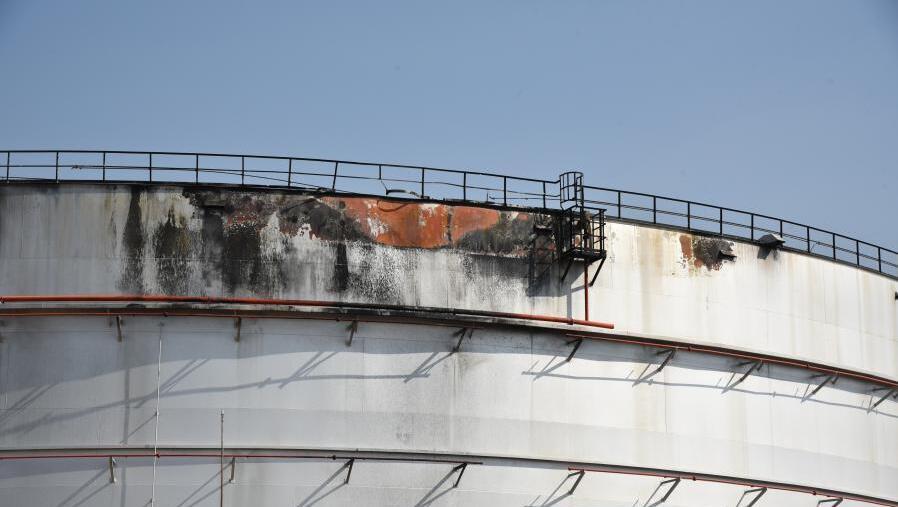 沙特一石油设施遭袭爆炸起火