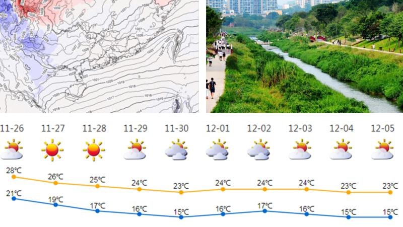 深新早点 | 冷空气今日开始补货,深圳入秋有望