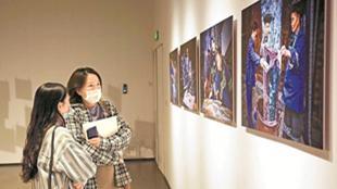第四届中国图片大赛颁奖典礼暨典藏作品展开幕式昨在深圳国风艺术馆举行