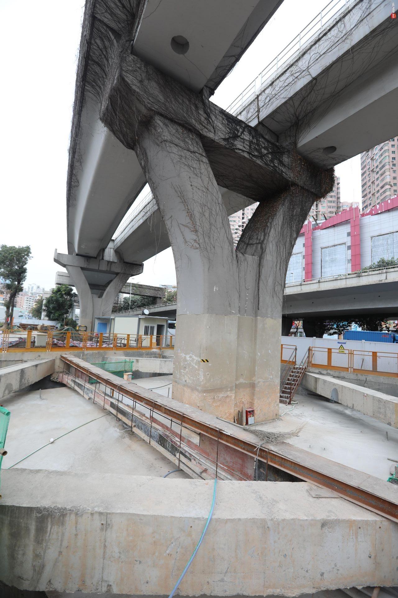 14号线完成深圳地铁建设史上首次既有线桩基托换