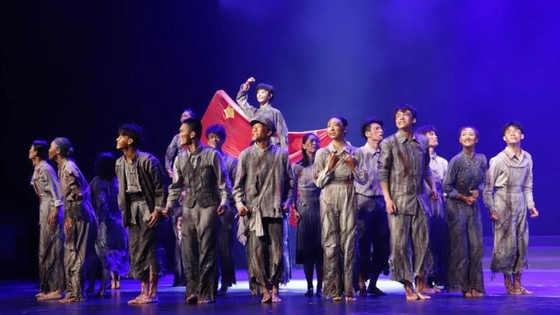 深圳舞蹈作品《烈火中永生》入围第十三届全国舞蹈展演