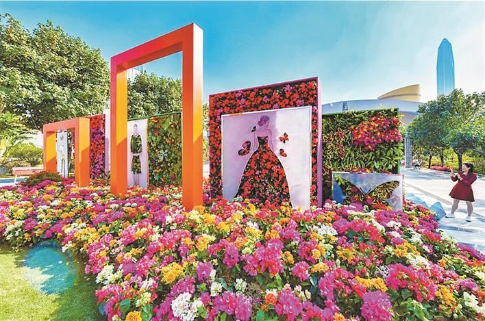 城市与山海美景一色 鸥鸟共经济发展齐飞 2020年深圳公园已达1206个