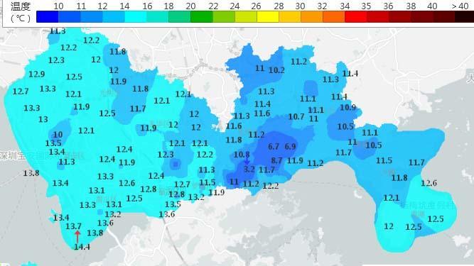深新早点丨冷 冷 冷!气温急降至10℃!寒冷黄色+大风蓝色预警生效中